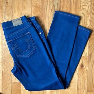 True religion cropped jeans. Size 28 - mid rise